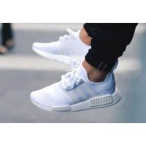 adidas nmd bleu et blanc