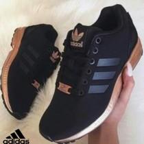 adidas zx flux noir et doré femme