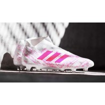 chaussures de foot adidas rose